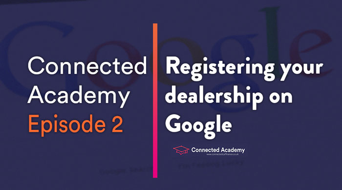 Episode 2: Registering on Google